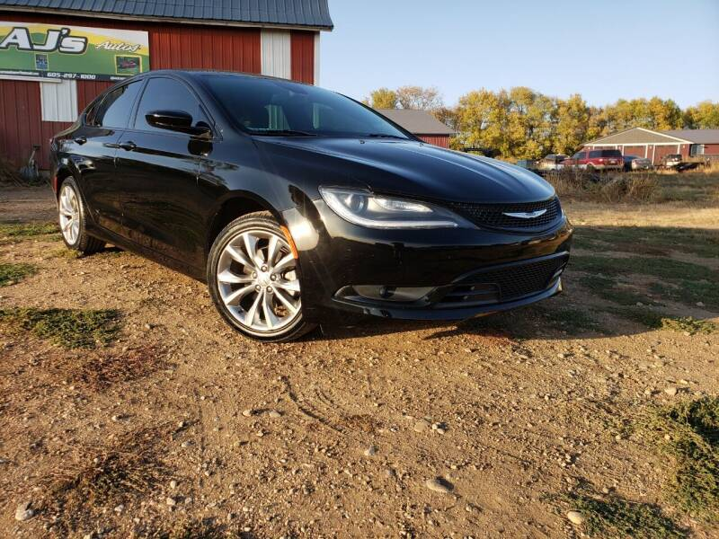 2015 Chrysler 200 for sale at AJ's Autos in Parker SD