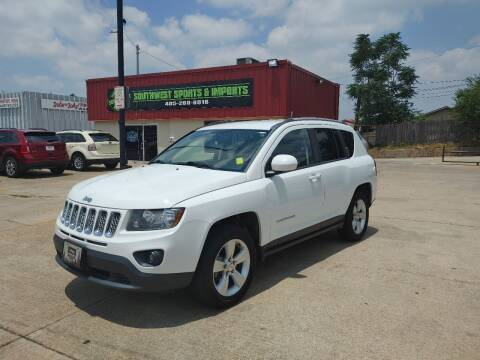 2016 Jeep Compass for sale at Southwest Sports & Imports in Oklahoma City OK