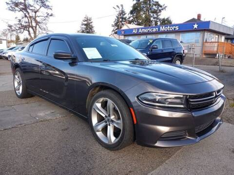 2015 Dodge Charger for sale at All American Motors in Tacoma WA