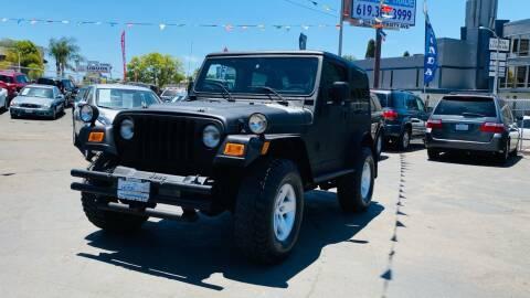 2005 Jeep Wrangler for sale at MotorMax in Lemon Grove CA