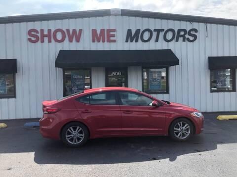 2017 Hyundai Elantra for sale at SHOW ME MOTORS in Cape Girardeau MO