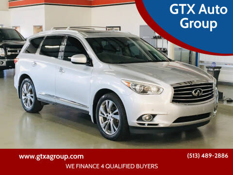 2013 Infiniti JX35 for sale at GTX Auto Group in West Chester OH