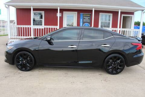 2017 Nissan Maxima for sale at AMT AUTO SALES LLC in Houston TX