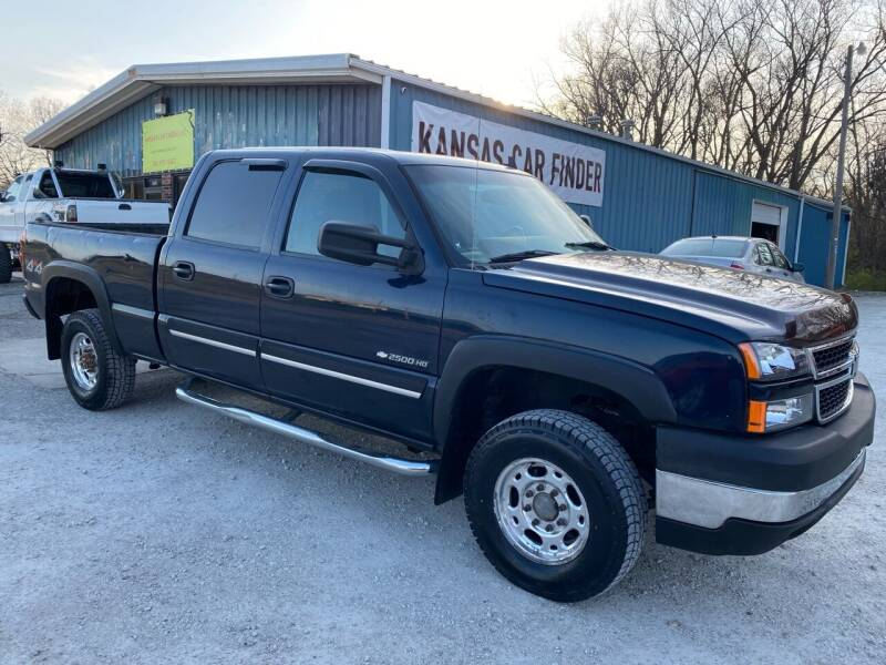 2006 Chevrolet Silverado 2500HD for sale at Kansas Car Finder in Valley Falls KS