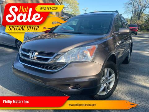 2011 Honda CR-V for sale at Philip Motors Inc in Snellville GA