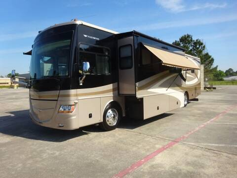 2008 Fleetwood Discovery 40x, OUTSIDE KITCHEN for sale at Top Choice RV in Spring TX