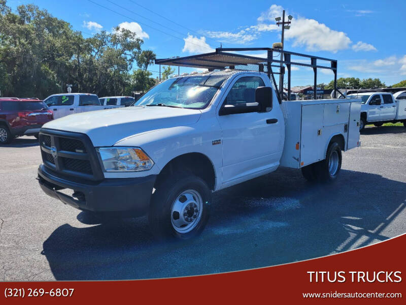 2018 RAM Ram Chassis 3500 for sale at Titus Trucks in Titusville FL