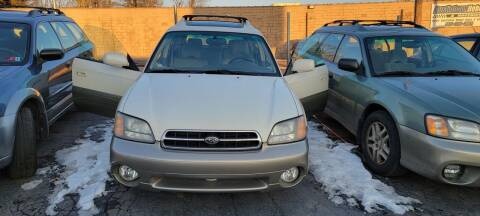 2002 Subaru Outback for sale at JORDAN AUTO SALES in Youngstown OH