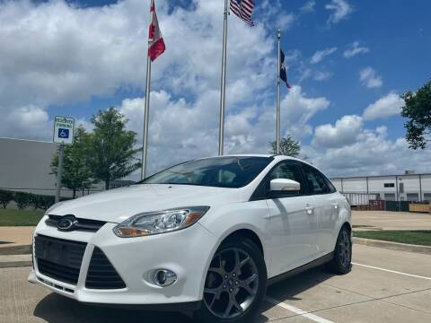 2013 Ford Focus for sale at TWIN CITY MOTORS in Houston TX