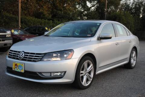 2014 Volkswagen Passat for sale at Shore Drive Auto World in Virginia Beach VA