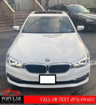 2017 BMW 5 Series for sale at Popular Auto Mall Inc in Newark NJ