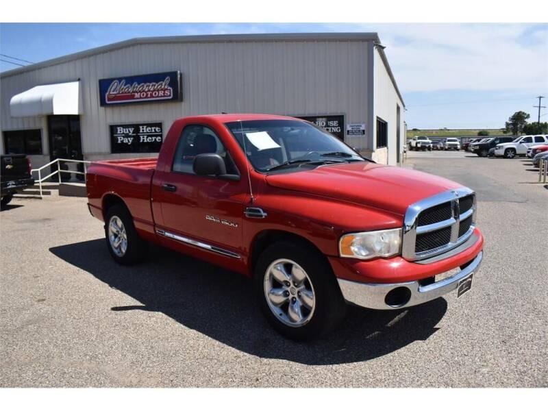 2005 Dodge Ram Pickup 1500 for sale at Chaparral Motors in Lubbock TX
