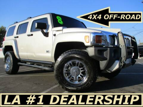 2008 HUMMER H3 for sale at ALL STAR TRUCKS INC in Los Angeles CA