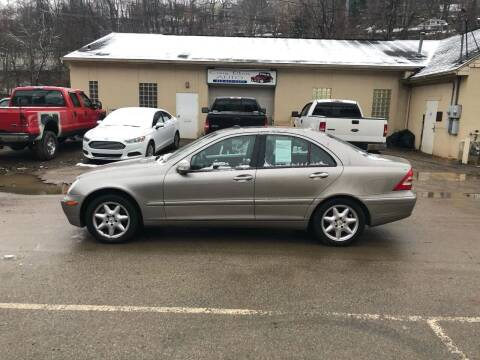 2004 Mercedes-Benz C-Class for sale at Compact Cars of Pittsburgh in Pittsburgh PA