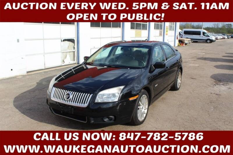 2007 Mercury Milan for sale at Waukegan Auto Auction in Waukegan IL