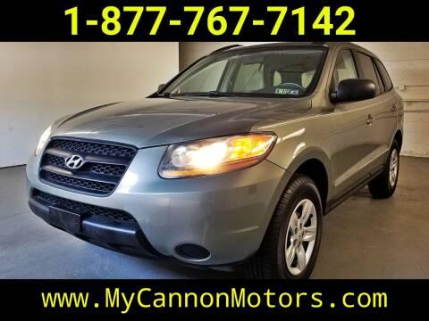 2009 Hyundai Santa Fe for sale at Cannon Motors in Silverdale PA