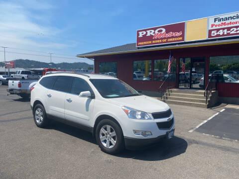 2012 Chevrolet Traverse for sale at Pro Motors in Roseburg OR
