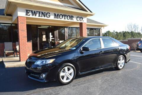 2013 Toyota Camry for sale at Ewing Motor Company in Buford GA