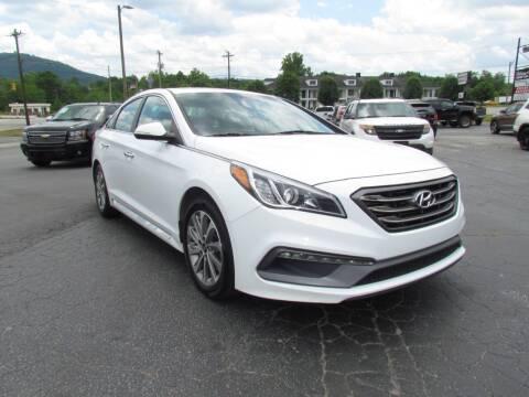 2017 Hyundai Sonata for sale at Hibriten Auto Mart in Lenoir NC