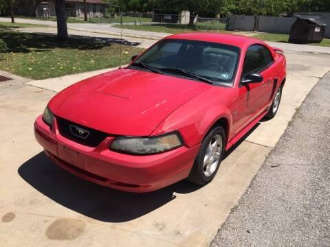 2003 Ford Mustang for sale at John 3:16 Motors in San Antonio TX