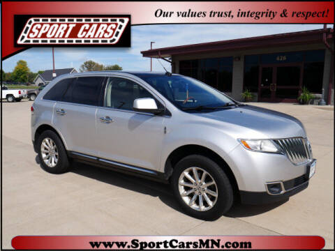 2011 Lincoln MKX for sale at SPORT CARS in Norwood MN