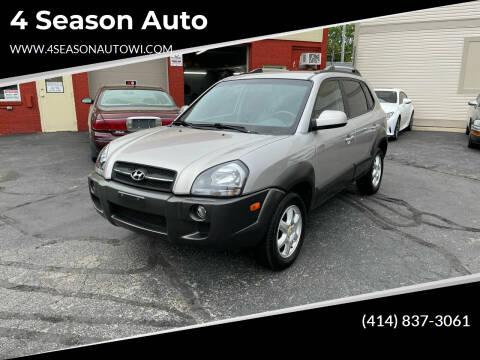 2005 Hyundai Tucson for sale at 4 Season Auto in Milwaukee WI
