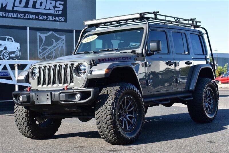 2020 Jeep Wrangler Unlimited for sale at Landers Motors in Gresham OR