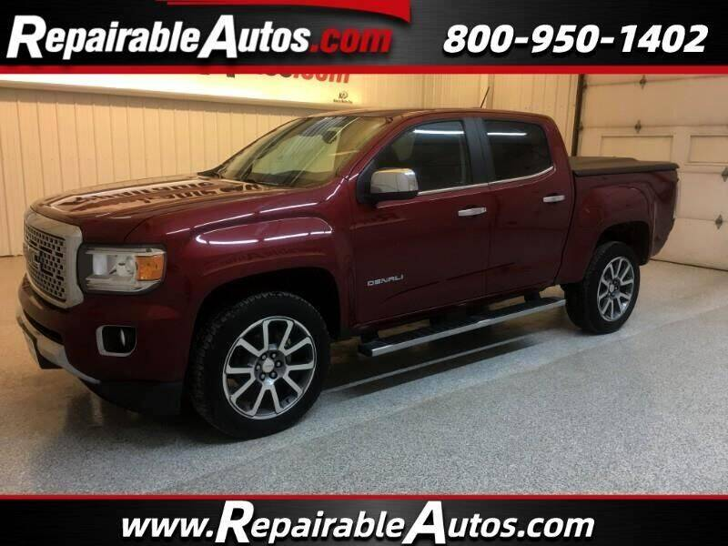 2019 GMC Canyon for sale at Ken's Auto in Strasburg ND