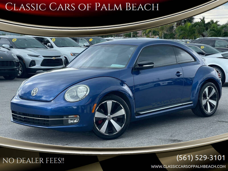 2012 Volkswagen Beetle for sale at Classic Cars of Palm Beach in Jupiter FL