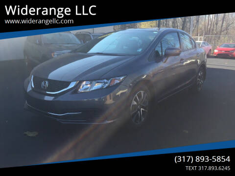 2015 Honda Civic for sale at Widerange LLC in Greenwood IN