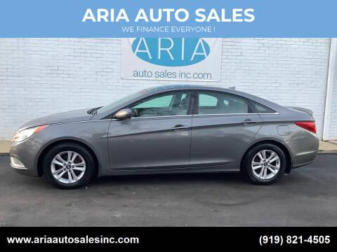 2013 Hyundai Sonata for sale at ARIA  AUTO  SALES in Raleigh NC