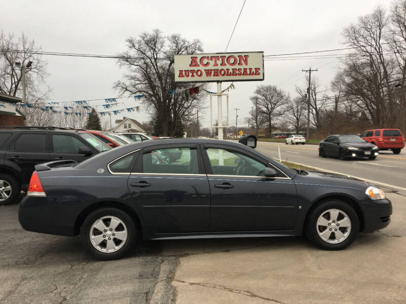 2009 Chevrolet Impala for sale at Action Auto Wholesale in Painesville OH