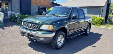 2001 Ford F-150 for sale at Persian Motors in Cornelius OR