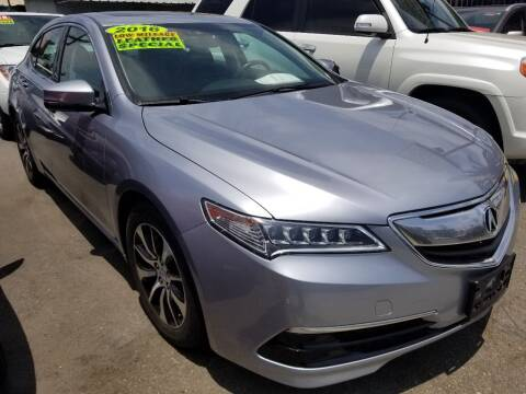 2016 Acura TLX for sale at Ournextcar/Ramirez Auto Sales in Downey CA