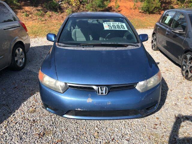2007 Honda Civic for sale at Cross Automotive in Carrollton GA