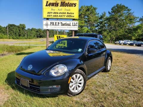 2014 Volkswagen Beetle for sale at Lewis Motors LLC in Deridder LA