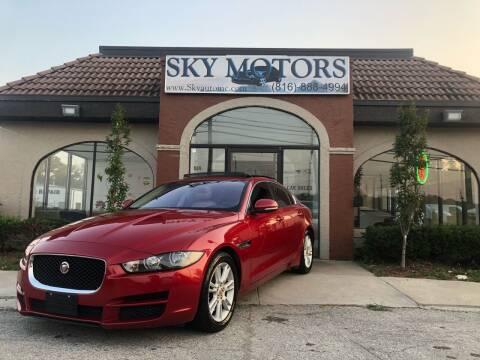 2017 Jaguar XE for sale at Sky Motors in Kansas City MO