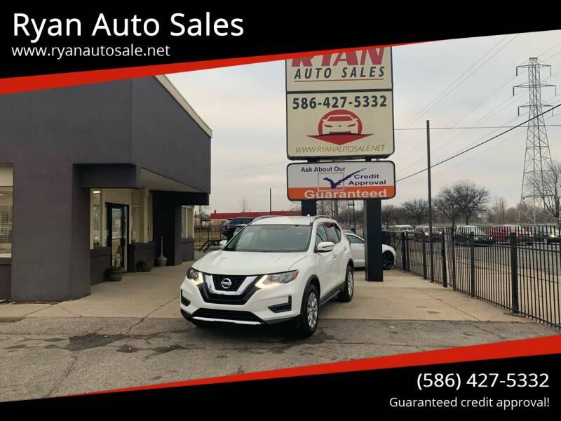 2017 Nissan Rogue for sale at Ryan Auto Sales in Warren MI