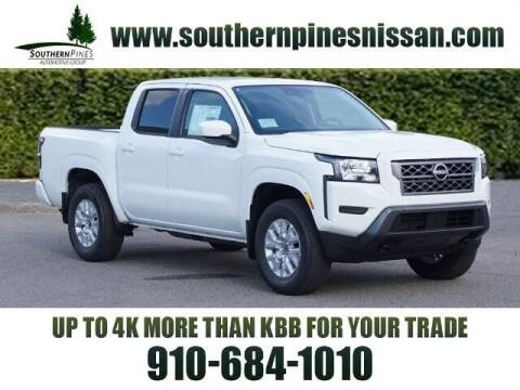 2022 Nissan Frontier for sale at PHIL SMITH AUTOMOTIVE GROUP - Pinehurst Nissan Kia in Southern Pines NC