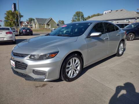 2017 Chevrolet Malibu for sale at Triangle Auto Sales in Omaha NE