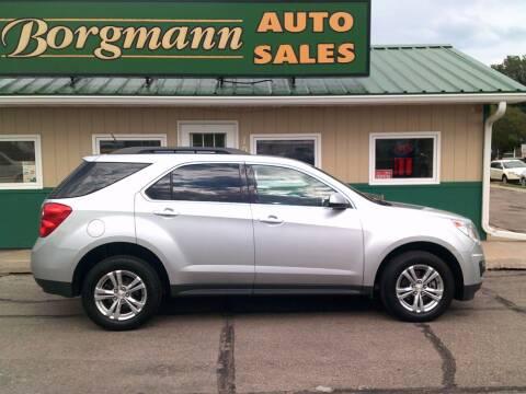 2015 Chevrolet Equinox for sale at Borgmann Auto Sales in Norfolk NE