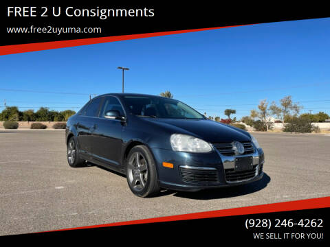 2010 Volkswagen Jetta for sale at FREE 2 U Consignments in Yuma AZ