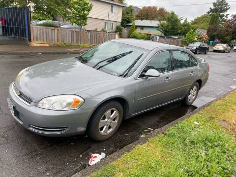 2008 Chevrolet Impala for sale at Blue Line Auto Group in Portland OR