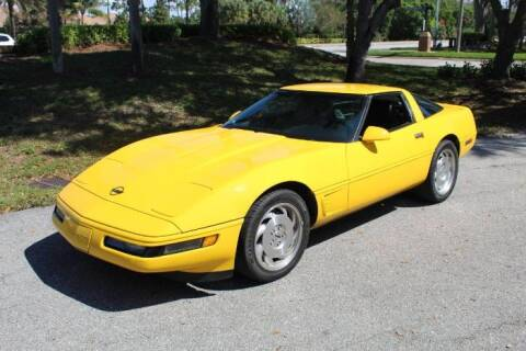 1995 Chevrolet Corvette for sale at Classic Car Deals in Cadillac MI