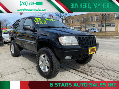 1999 Jeep Grand Cherokee for sale at 6 STARS AUTO SALES INC in Chicago IL