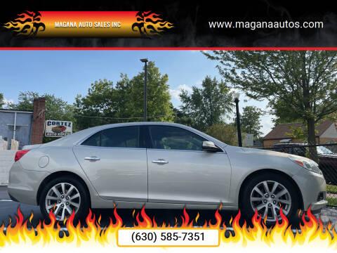 2015 Chevrolet Malibu for sale at Magana Auto Sales Inc in Aurora IL