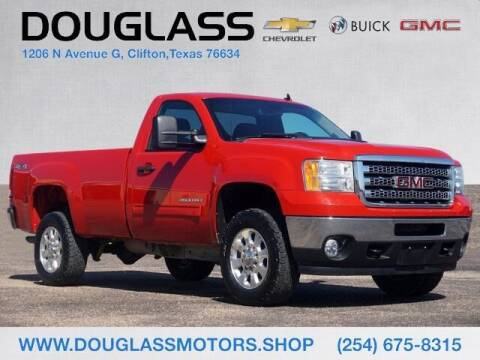 2013 GMC Sierra 2500HD for sale at Douglass Automotive Group - Douglas Chevrolet Buick GMC in Clifton TX