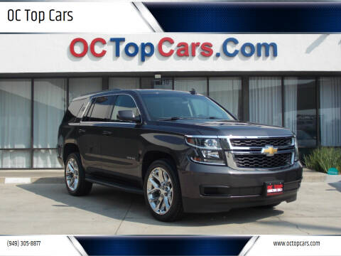 2016 Chevrolet Tahoe for sale at OC Top Cars in Irvine CA