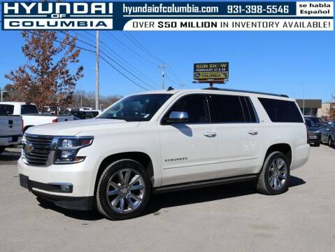2015 Chevrolet Suburban for sale at Hyundai of Columbia Con Alvaro in Columbia TN