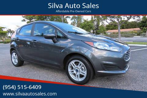 2017 Ford Fiesta for sale at Silva Auto Sales in Pompano Beach FL